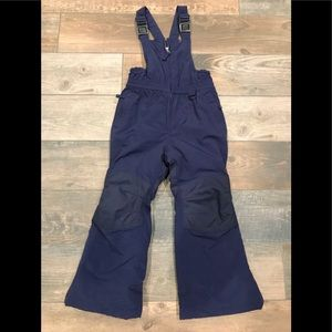Lands' End squall overall ski pant navy size 4/5